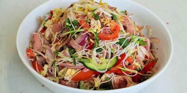 Lemongrass Beef Sirloin Salad