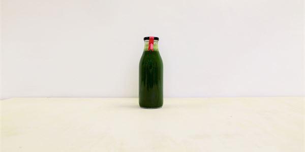 Ube Green Juice - Apple, Celery, Spinach, kale, Cucumber