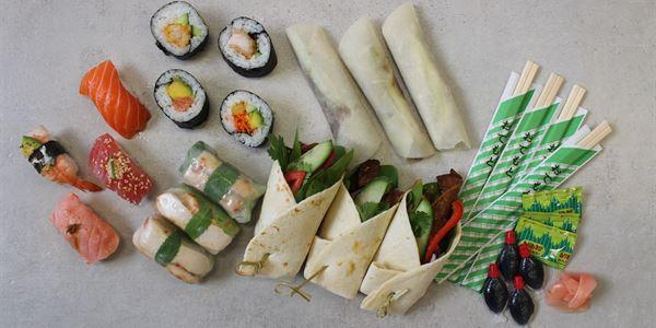 Asian Delight Platter