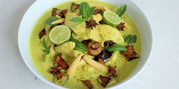 Thai Green Chicken Curry - HM