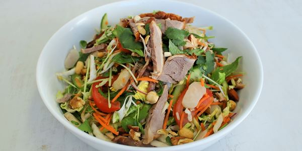 Shredded Duck and Mango Salad