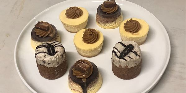 Assorted Individual Cheesecakes