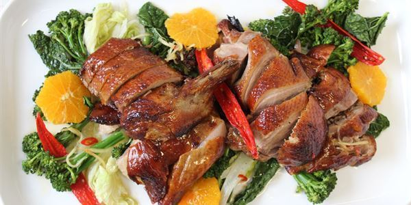 Five Spiced Chinese Duck