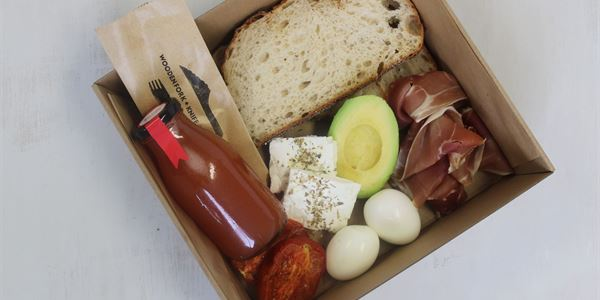 Mediterranean Breakfast Box
