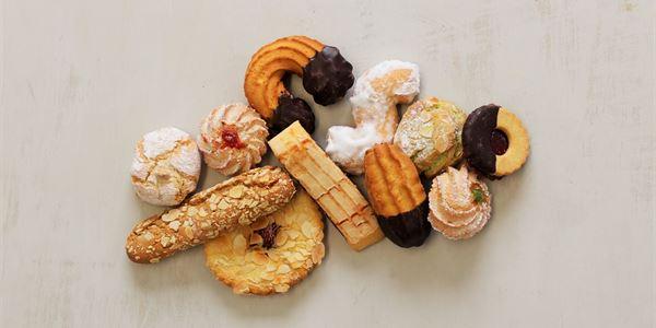 Biscotti platter