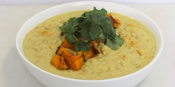 Pumpkin Chickpea Curry - HM