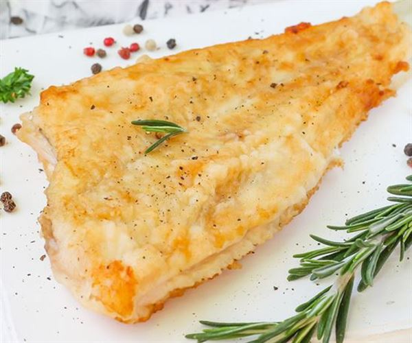 Almond Crusted Flounder