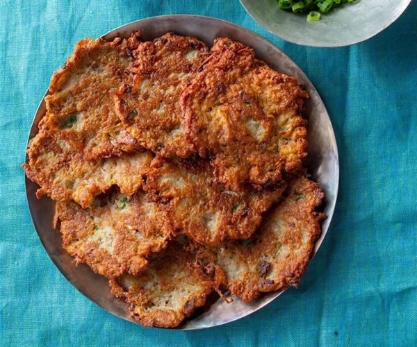 Kings Chef Inspired Potato or Sweet Potato Latkes