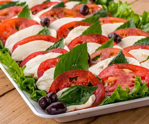 Tomato Mozzarella Platter