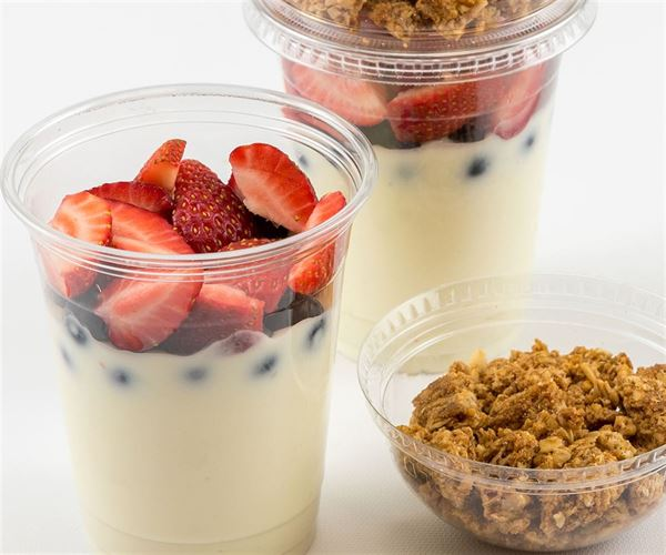 Individual Berry Yogurt Parfait