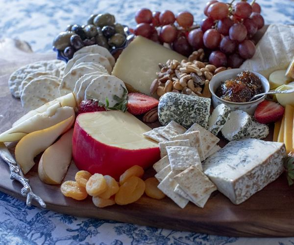 Kings Specialty Cheese Platter