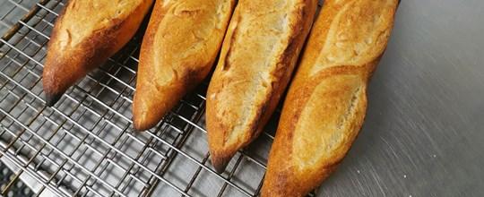 Semi-sourdough baguette (Available Saturday)