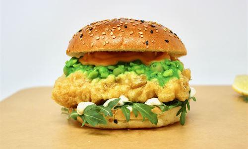 Codfather burger
