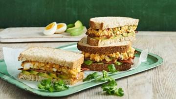 Gluten Free Point Sandwiches - 12 half sandwiches *GLUTEN FREE*