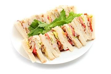 Gourmet Point Sandwiches - 24 Pieces