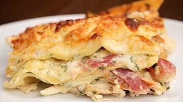 Chicken & Bacon Lasagne -*GLUTEN FREE* (serves 4-6)