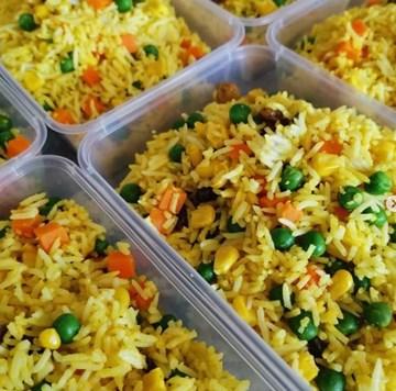 VEGAN Turmeric Rice
