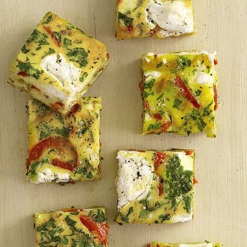 House-made Vegetarian Frittata - 10 pieces