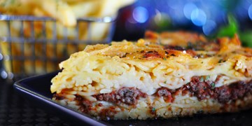 Greek Spaghetti Pie - Large Tray (serves 4-6)