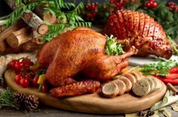 MIXED Maple Glazed Ham & Turkey (8-12 guests)