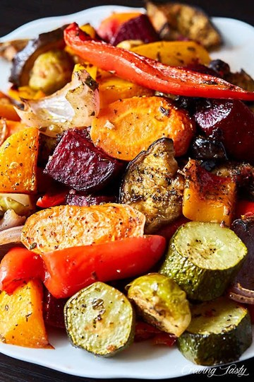 Roasted Vegetable Tray (serves 4-8)