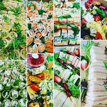 (20+ guests) HOT & COLD Gathering Catering - Morning Tea/Light Lunch