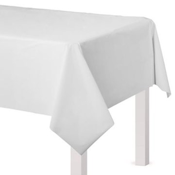 Plastic Tablecloth Cover - Disposable