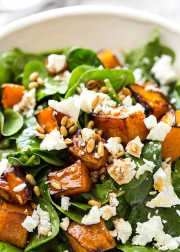 Sweet Potato, Baby Spinach & Feta  - Small Tray. Serves up to 4 people (side salad)