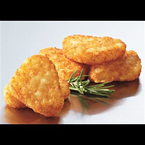 Hash Brown Triangles with tomato sauce - 24 Pieces