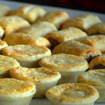 Traditional Mini Pies & Sausage Rolls - 24 Pieces