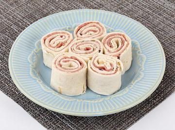 Salami & Olive Spread Roller