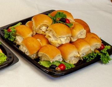 Dollar Roll Sandwiches