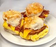Biscuit Sandwiches