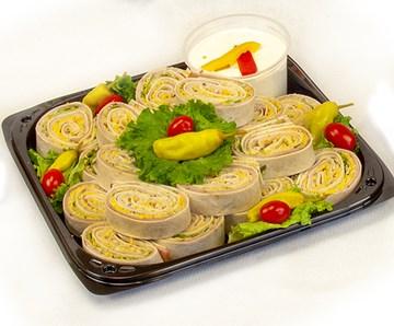Ham & Turkey Rollers