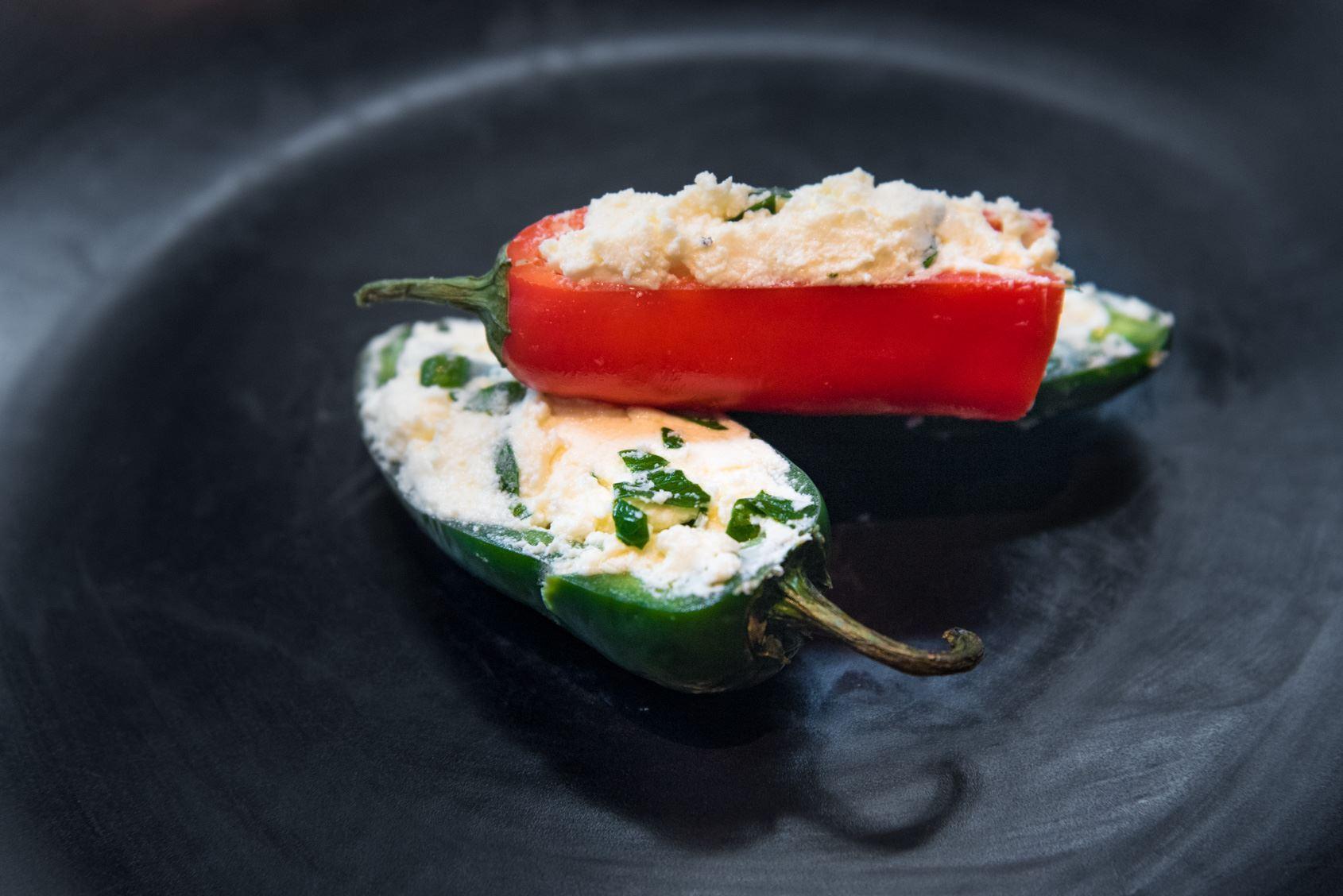 Mini Stuffed Peppers w/ Fetta & Herbs