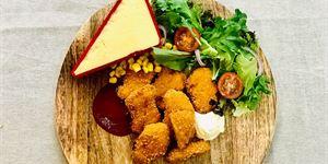 Chicken Cheese & Corn Nuggets