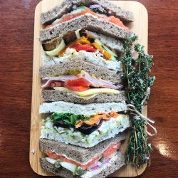 Gourmet point filled Sandwiches VEGETARIAN