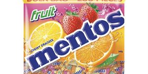 Mentos Fruit Individually Wrapped 200 Pack