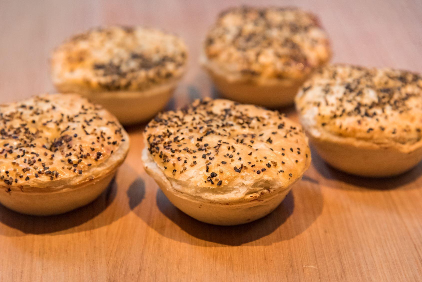 Mini Lamb & Rosemary Pies
