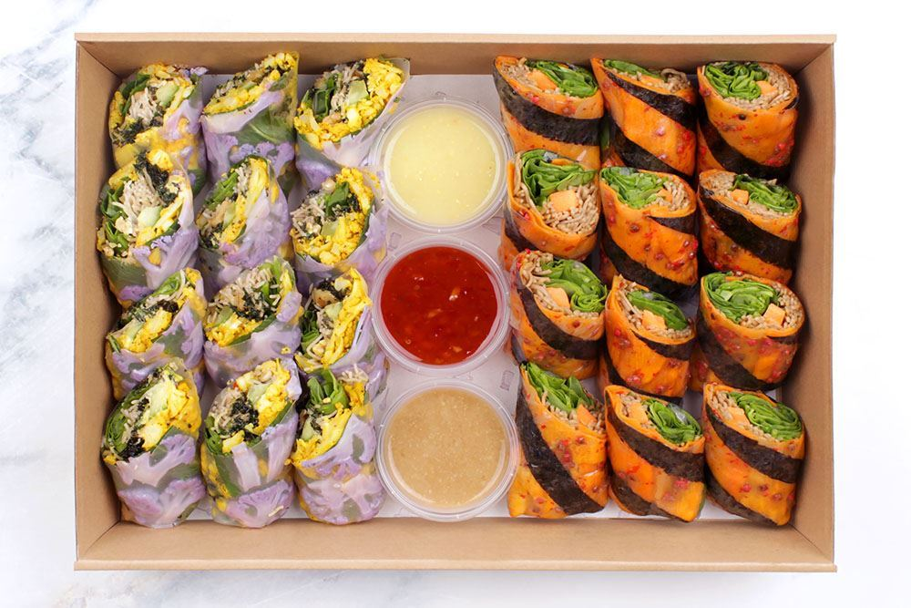 Vegan Salad Roll Collection