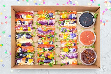 Rainbow Ricepaper Roll Collection