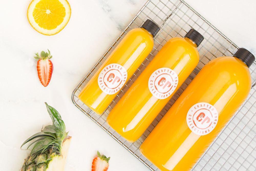 Cold Pressed Orange Juice: 100% Australian seasonal oranges