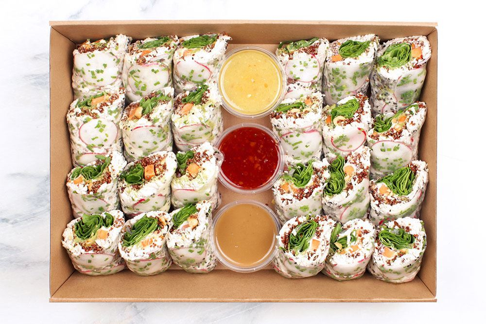 Chicken Salad Roll Collection