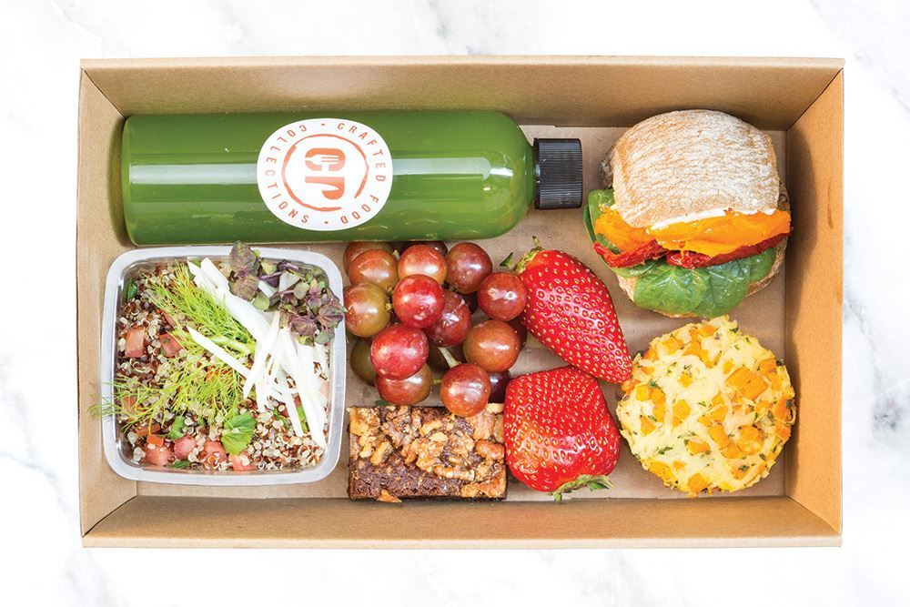 Individual Vegetarian Lunch Box