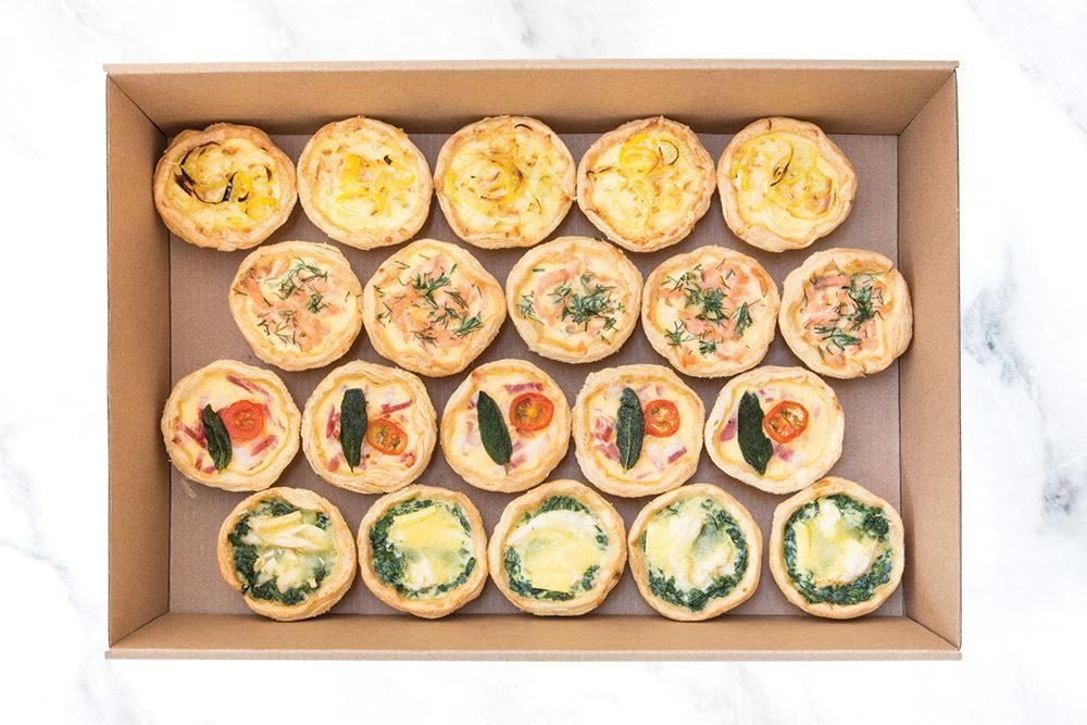 Medium Quiche Collection