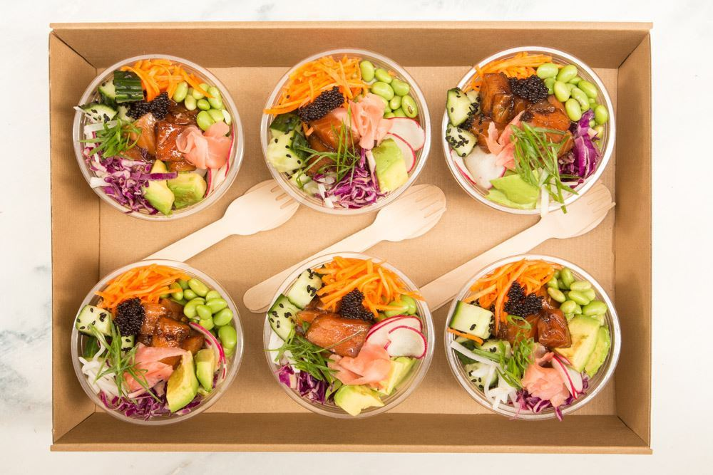 Salmon Poke Bowl Collection