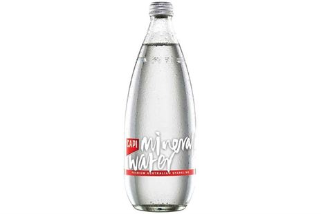 Capi Australian Sparkling Mineral Water 750ml