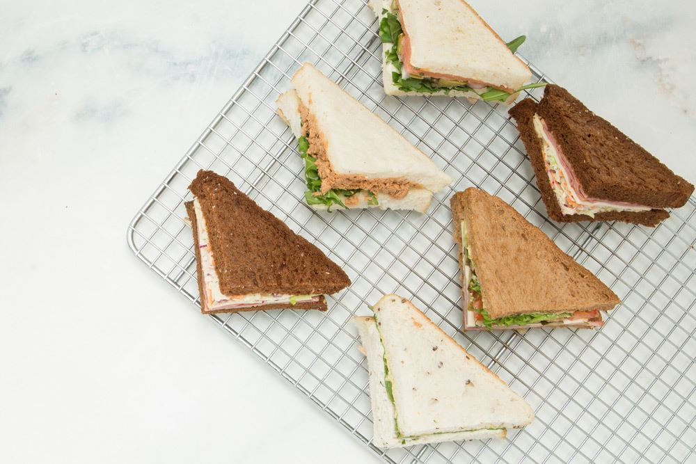 Triangle Sandwiches