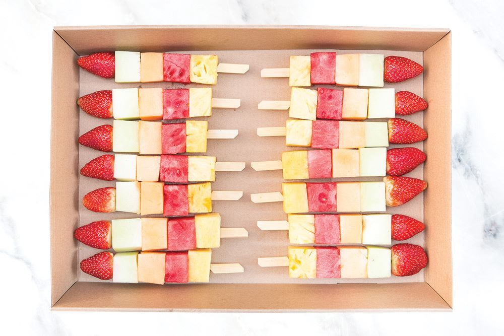Fruit Skewer Collection