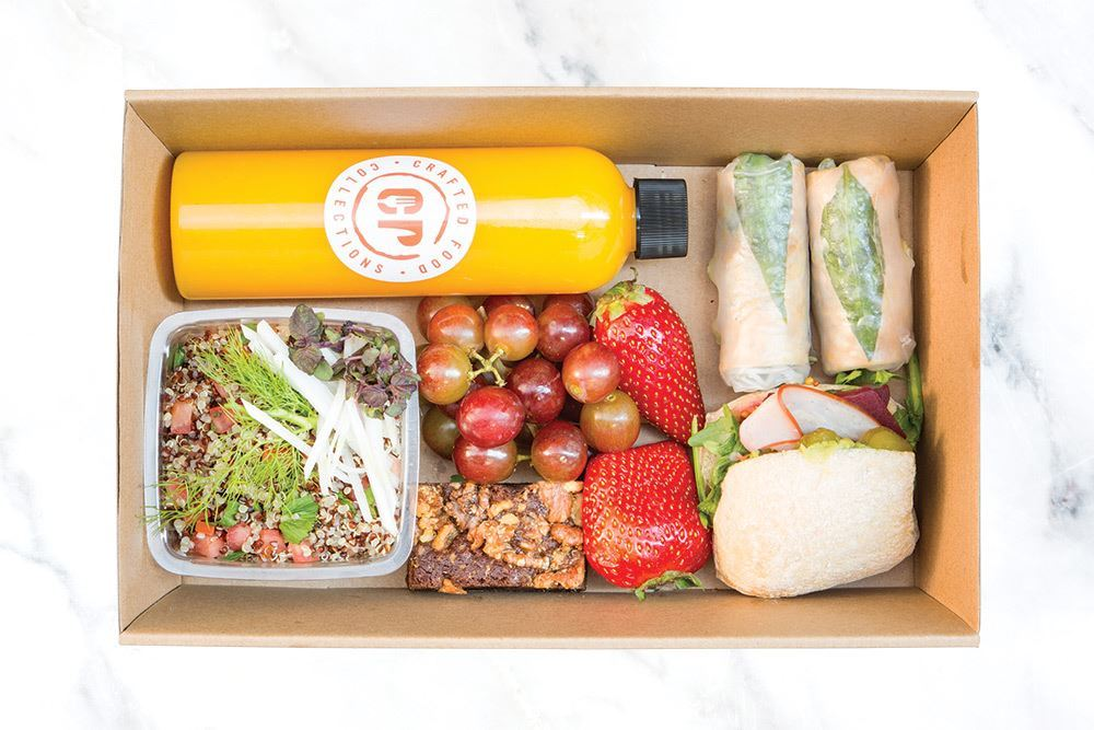 Individual Dairy Free Lunch Box